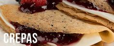 Crepas Cream Cheese Recipes, Salsa, Food And Drink, Lunch, Cooking, Ethnic Recipes, Desserts, Bananas, Tango