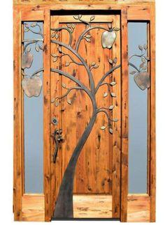 Beautiful tree door