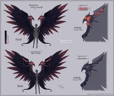 Aion Wing Contest by Cottoneeh.deviantart.com on @DeviantArt