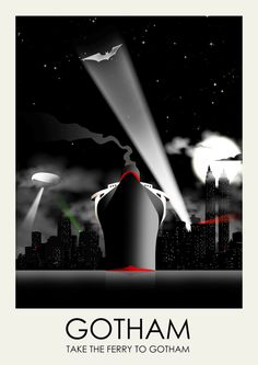 Take the Ferry to Gotham - Ciaran Monaghan