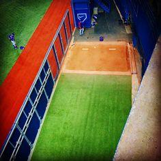 Bullpen solitude. #BlueJays #MLB