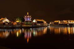 Suzhou, Kinas Venedig Suzhou, Venice, Opera House, China, Live, Building, Photography, Travel, Voyage