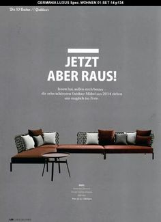 GERMANY_LUXUS SEPTEMBER 2014  #BEBITALIA #PRESS #RAVEL #PATRICIAURQUIOLA