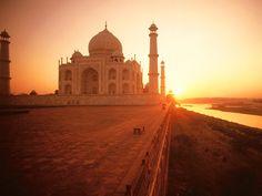 Tadż Mahal in Agra ,Indie
