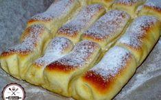 Bread Recipes, Cake Recipes, Dessert Recipes, Cooking Recipes, Hungarian Desserts, Hungarian Recipes, Croatian Recipes, Creative Food, Hot Dog Buns
