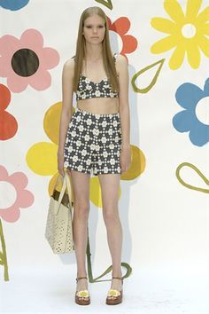 Pining for next summer so I can wear exactly this outfit! Amazing // Orla Kiely LFW SS15