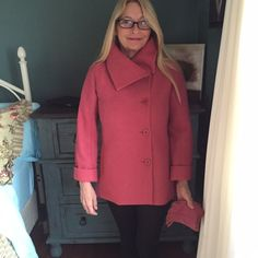 Beautiful wool & rayon jacket Brighten up a gloomy day with this beautiful jacket. Talbots Jackets & Coats