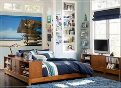 Modern Teen Room Ideas for Boys