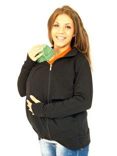 Porteando a tu bebé en invierno :-)