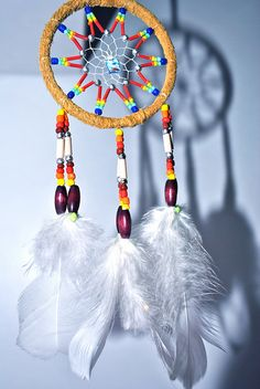 But that' s actually a dreamcatcher because I bought to an Native American man. Native American Legends, Native American Crafts, Diy Arts And Crafts, Bead Crafts, Diy Crafts, Dream Catcher Mobile, Dream Catchers, Dream Catcher Native American, Indian Crafts