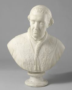Bust of Pope Leo XII. Louis Royer, 1827, Rijksmuseum