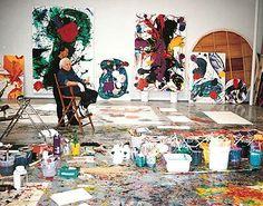 Sam Francis studio