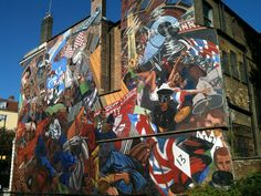Cable Street Mural, Shadwell
