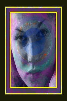 Original Portrait Printmaking by Richard Arfsten Digital Ink, Queen Art, Abstract Faces, Paper Artist, Painted Paper, Abstract Expressionism Art, Ink Painting, Printmaking, Buy Art