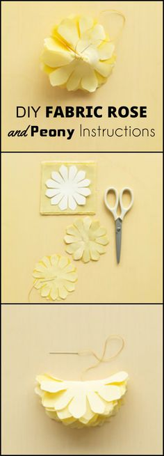 50 Easy Fabric Flowers Tutorial - Make Your Own Fabric Flowers - Page 6 of 10 - DIY & Crafts