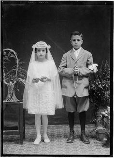 Niños de Primera Comunión. Primera Década siglo XX