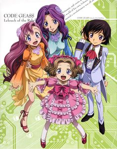 britannia siblings code geass | Minitokyo » Code Geass: Lelouch of the Rebellion Scans » Code Geass ...