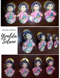 Ysnelda Solano Hecho a Mano: Virgencitas en Porcelana Fría, premios y fiesta de enlaces