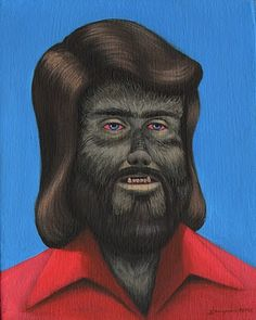 Classic Movie Monsters From The 1970s -The Wolfman