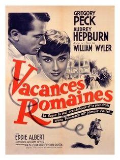 Vacances Romaines - Roman Holiday movie poster