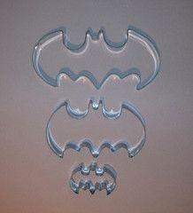 Batman cookie cutters