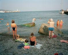 Ukraine 1990s: The city of Yalta on photos by Martin Parr - 17