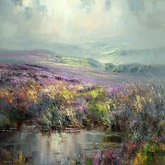 Rex Preston and Mark Preston - Artists Impressionist Landscape, Abstract Landscape, Landscape Paintings, Cityscape Art, Amazing Paintings, Texture Painting, Acrylic Art, Beautiful Artwork, Contemporary Paintings