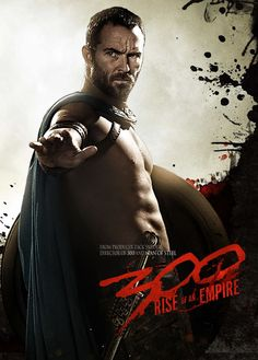 Sullivan Stapleton is our bit of eye candy in the new '300' movie, 'Rise of an Empire.' Click the image to see more posters.