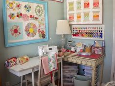 """This is a """"finish it up"""" post for the Sew Organized  series I posted in the month of June. Although I still have a few odds and ends to ..."""