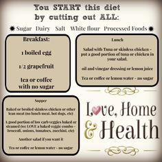 Lose Weight Fast - The ULTIMATE DIET to lose 7 to 10 pounds in one week. THIS DIET will NOT fail you. TONS of health tips that WORK at - www.lovehomeandhealth.com