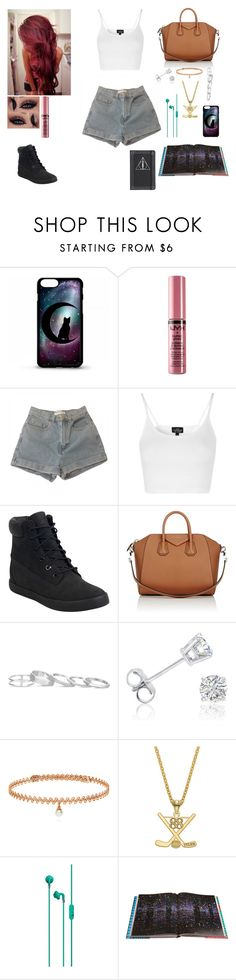 """""""Untitled #742"""" by julia-m-a-r-v-e-l ❤ liked on Polyvore featuring Power of Makeup, NYX, American Apparel, Topshop, Timberland, Givenchy, Kendra Scott, Amanda Rose Collection, BERRICLE and Rizzoli Publishing"""