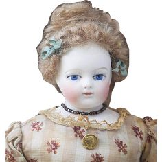 11' (28cm) Extremly Rare Antique All Original French Fashion Gaudinot & Popineau marked doll, c.1865