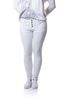 Hvide Jeans – Love Paris