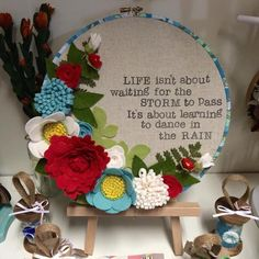 #throbackthursday One of my quote hoops I made last year. I've been having the urge to make more! Hand stamped onto Japanese linen and wool felt flowers. Made using our merino blend wool felt in Strawberry, mint macaroon, fresh linen & mellow yellow flower centres x #sewsweet #sewsweetukdesigns #quote #hoo part #walldecor #artisan #designer #handmadeuk #feltflorist #woolfelt #merinowool #feltflowers #flowers #inspirational #vintagehoop #embroideryhoop #instamaker #craftersofinstagram…