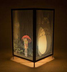 Totoro lamp by LightGuild on Etsy >>My birthday present, please, somebody, anybodyyyyy~