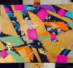 Geometry and the 80's  Abstract Art by Michelle Lu   #abstract #art