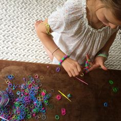 Loom bands are taking over the world!!!