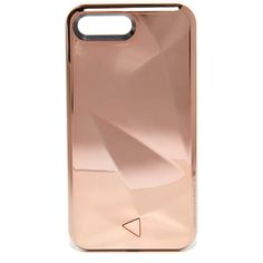 Rebecca Minkoff Glow Selfie iPhone 7 Plus Case (€54) ❤ liked on Polyvore featuring accessories, tech accessories, phone cases, phone, iphone, rose gold and rebecca minkoff