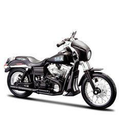 Miniatura Moto Sons of Anarchy Tig – 2006 Harley-Davidson FXDBI Dyna Street Bob - Maisto 1:18