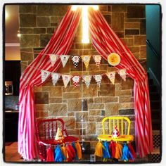 diy marquee circus theme - Google Search