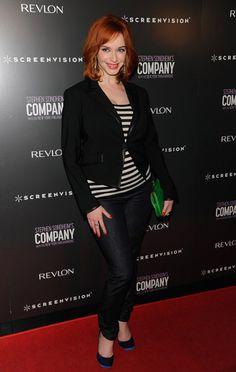 Christina Hendricks Casual Style