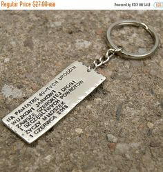sale sale sale PERSONALIZED KEYCHAIN , men keychain