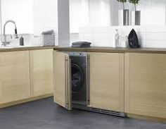 kitchen laundry room combo - Google Search