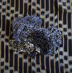 Kasuri (Ikat) Yarns   via sri threads