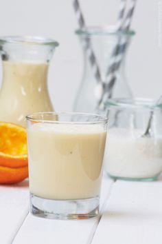 Vitamin-Kick am Morgen vertreibt Kummer und Sorgen {Kokos-Vitamin-Smoothie}