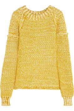 ChloéChunky-knit cotton-blend sweater