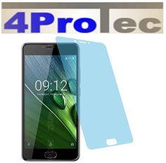 2 Stück HARTBESCHICHTETE KRISTALLKLARE Displayschutzfolie für Acer Liquid Z6 Plus Bildschirmschutzfolie - http://uhr.haus/4protec/acer-liquid-z6-plus-entspiegelt-schutzfolien