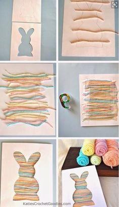 Paaskaart met touw