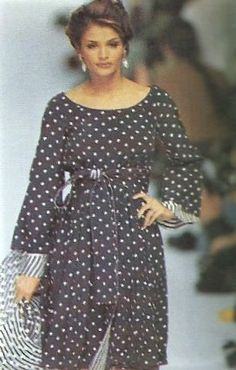 203cacf14ad2 Helena Christensen - Christian Dior Runway Show