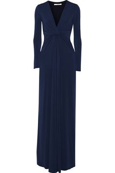 HALSTON HERITAGE Stretch-Jersey Gown. #halstonheritage #cloth #gown